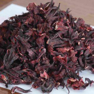 Dry Hibiscus Leaves