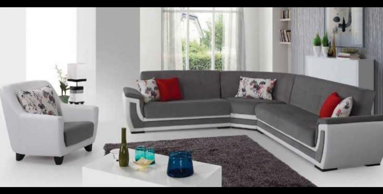 Stupendous Vienna 10 Modern Design Fabric Sofa Furniture White Corner Machost Co Dining Chair Design Ideas Machostcouk