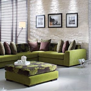 Egypt modern design 3 fabric sofa furniture, white corner chaise lounge sofa